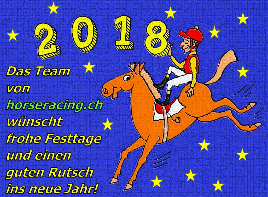 Frohe Festtage Und Einen Guten Rutsch Ins 2018 Horseracingch